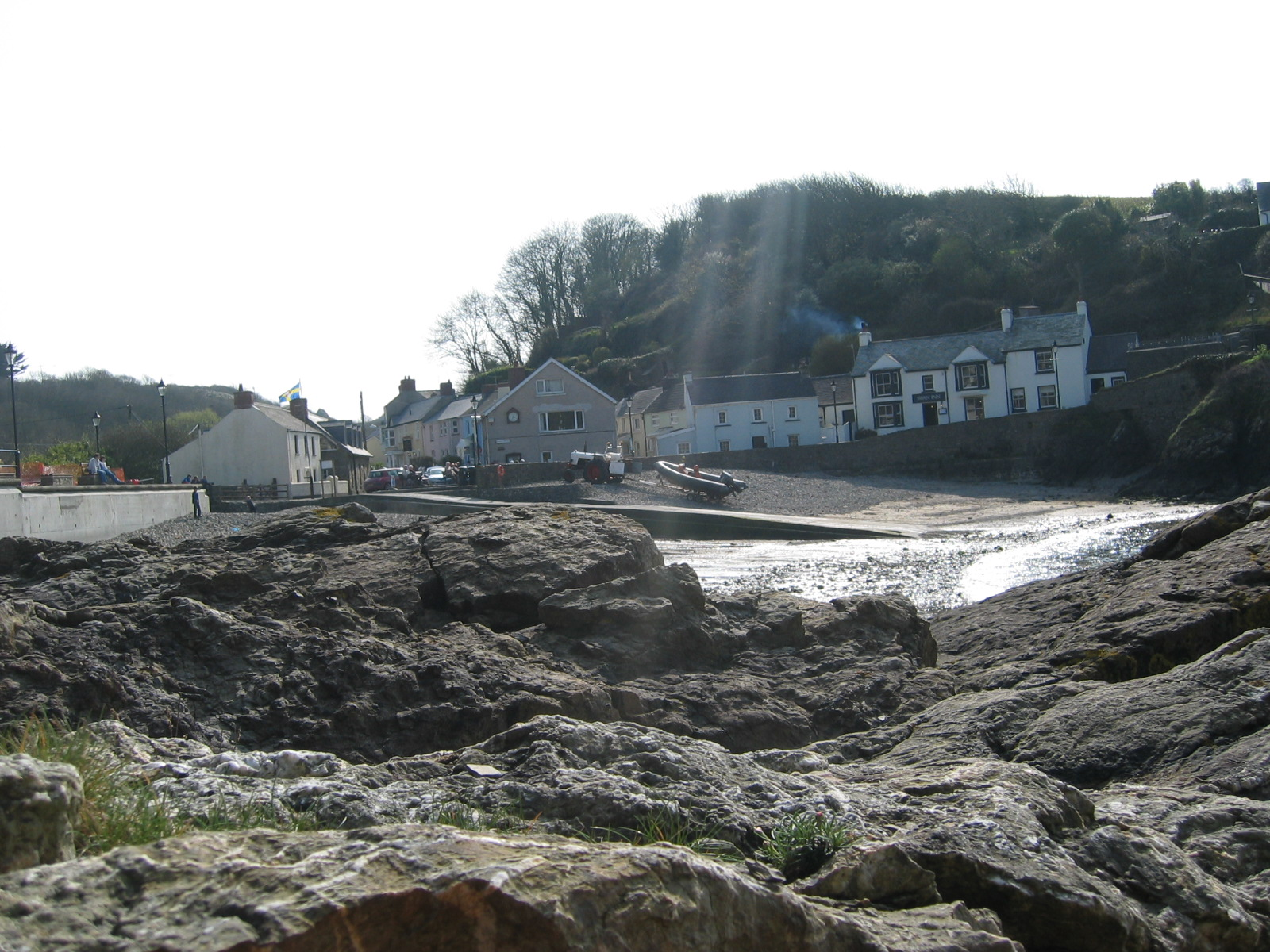 Little Haven inland vew Pembrokeshire