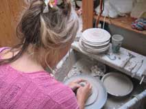 Pottery Teaching Trallwyn Pembrokeshire Wales Cottage Holidays